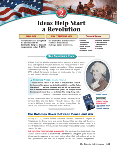 Ideas Help Start a Revolution - Lake Harriet Community School