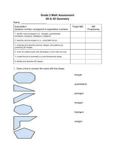 Summative – Geometry Grade 2 Summative for geometry Grade 2.