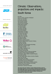 Climate: Observations, projections and impacts: South Korea