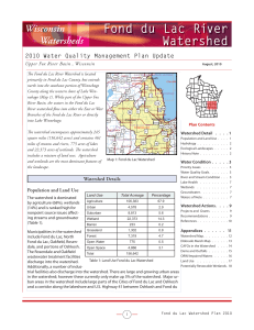 Fond du Lac River Watershed