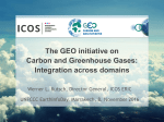 The GEO initiative on Carbon and Greenhouse Gases