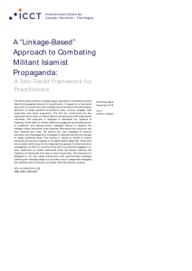 """Linkage-Based"" Approach to Combating Militant Islamist Propaganda"
