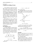 Coefficient of Sliding Friction
