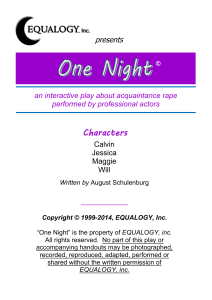 Acquaintance Rape handout