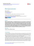 Flow past a Groove - Scientific Research Publishing