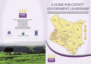 A Guide for County Government Leadership