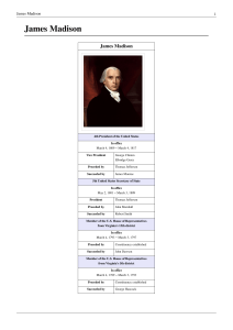 James Madison - a proposal to help save our precious right to civil