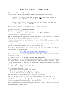 Problem Set 1 - MIT OpenCourseWare