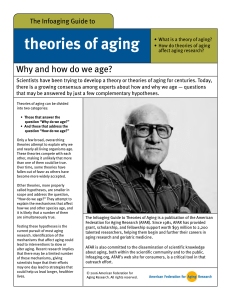 Why and how do we age? - American Federation for Aging Research