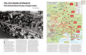 The 1944 Battle of Minsk