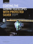 Coating Gemini Telescopes with Protected Silver