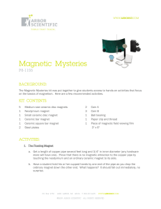 Magnetic Mysteries