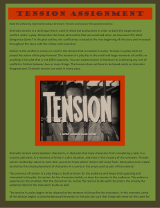 Tension Assignment - Canvas by Instructure
