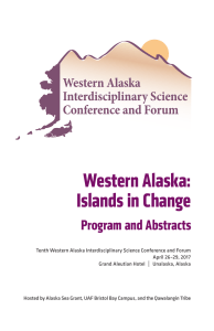 Abstract book  - Alaska Sea Grant