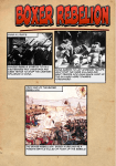 China in 1900`s 1901: End of the Boxer Rebellion Chinese rebels