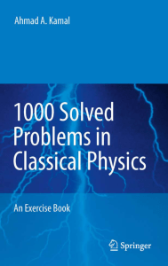 1000-Solved-Problems-in-Classical-Physics-An-Exercise