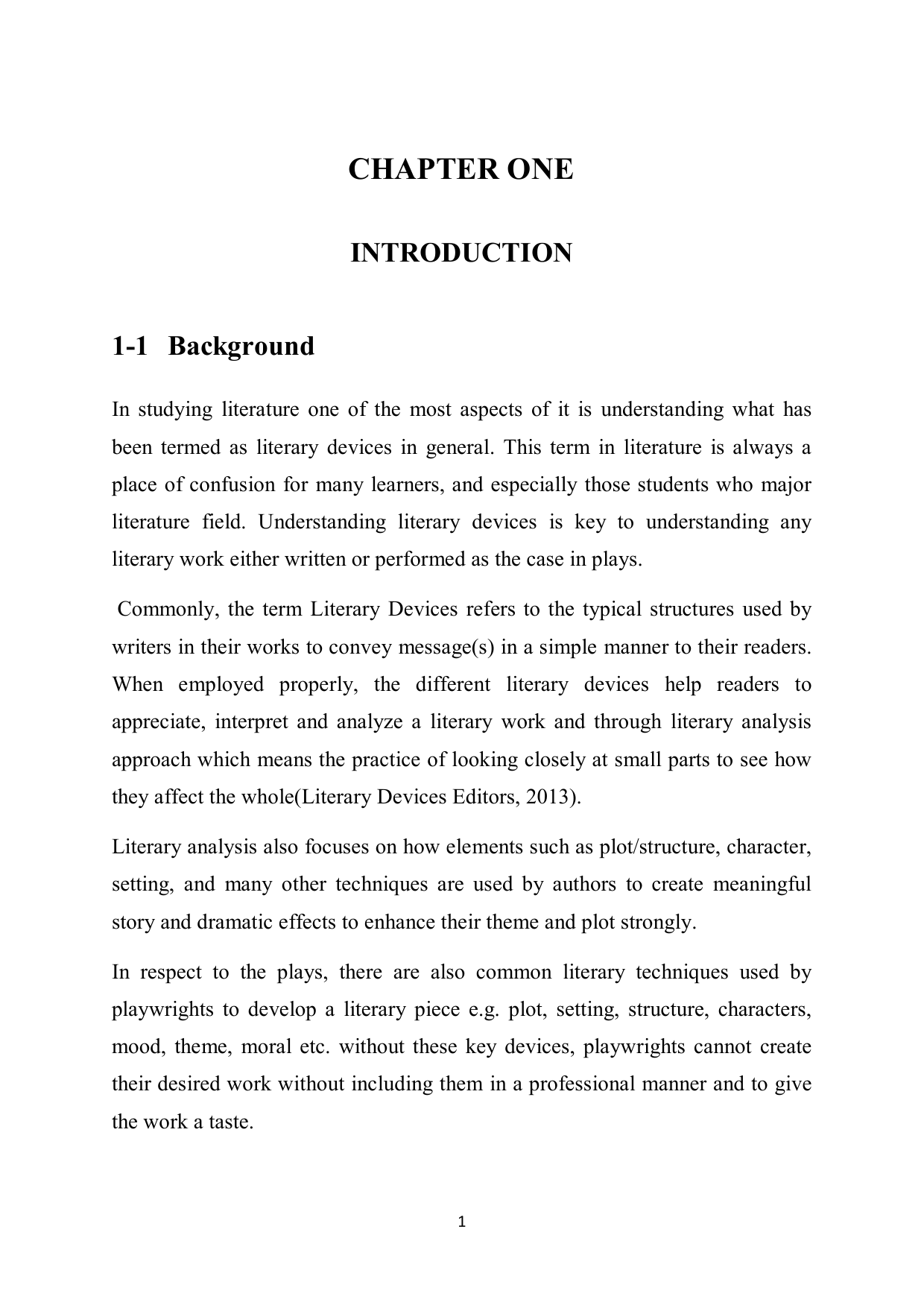 chapter one - SUST Repository