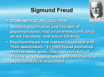 According to Freud, we are born with our Id.