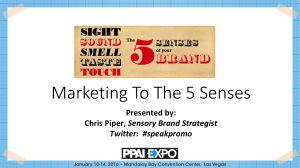 Marketing To The 5 Senses