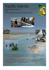 Pacific Regional Oceans Policy - Pacific Islands Forum Secretariat