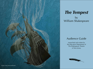 The Tempest - The Shakespeare Theatre of New Jersey