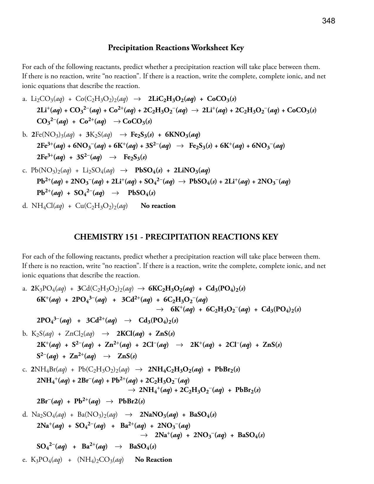 worksheet Types Of Chemical Reactions Worksheet Answer Key worksheet precipitation reaction thedanks for best of predicting reactions answers key