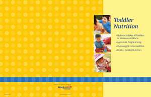 Toddler Nutrition - Mead Johnson Nutrition