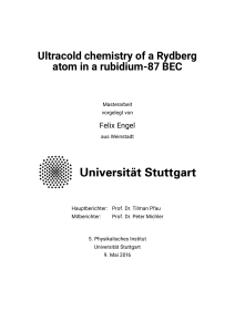 Ultracold chemistry of a single Rydberg atom in a rubidium