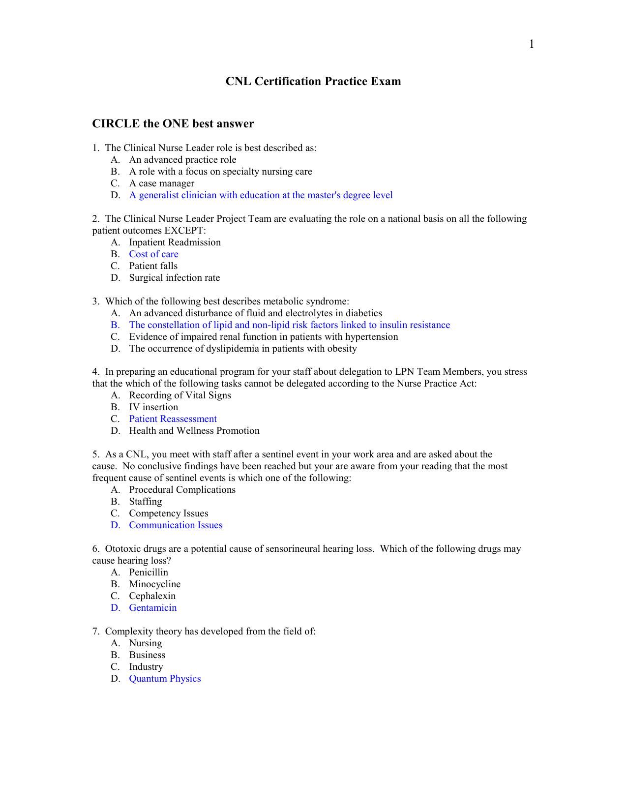 Physics 2 Practice Exam