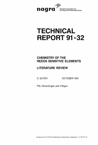 technical report 91 -32