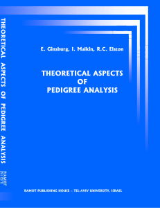 Theoretical aspects of pedigree analysis