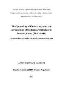 2.3 Christianity in Shaanxi Province