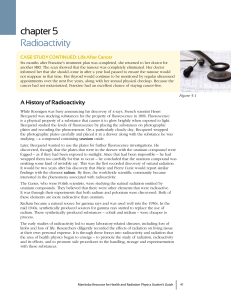 chapter 5 Radioactivity