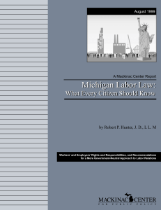 Michigan Labor Law
