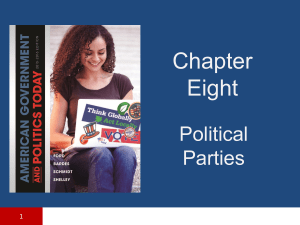 Chapter 8 Political Party