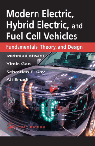 Modern electric, hybrid electric, and fuel cell vehicles: Fundamentals