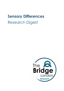 Sensory Differences Research Digest