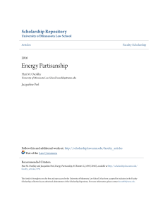 Energy Partisanship - Scholarship Repository