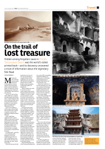 On the trail of - Journeys on the Silk Road