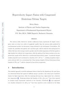 Hypervelocity Impact Fusion with Compressed Deuterium