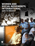 Women and Social Movements, International– 1840 to Present