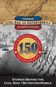 Stories Behind the Civil War 150 HistoryMobile