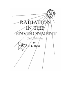 chapter 2: electromagnetic radiation: the