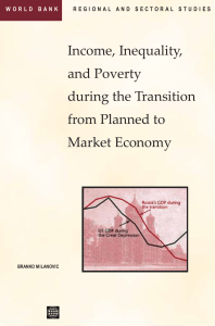 Income Inequality and Poverty During the Transition from Planned to