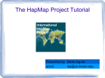 The HapMap Project Tutorial