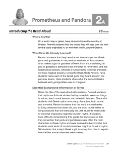 Prometheus and Pandora 2A