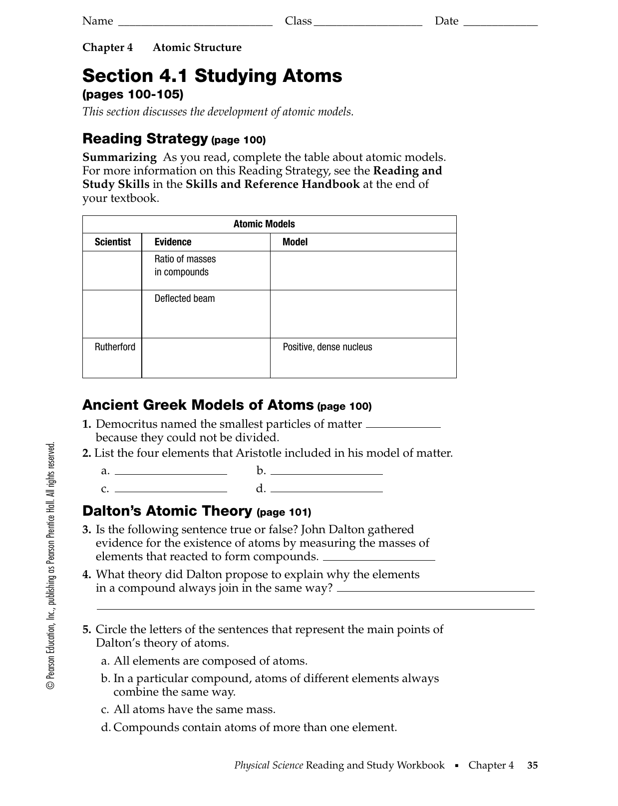 Atomic Theory Worksheet together with Rutherford Model of the Atom  Definition   Diagram   Video   Lesson further Introduction to Atoms Key Concepts Section 1 Summary moreover drawing conclusions from data worksheets – letseatapp co likewise Democritus  The Atom  around 400 BCE    ppt video online download together with Worksheet Development Of Atomic Theory True Or False Answers furthermore Development Of Atomic Theory Worksheets also  additionally Section 4 1 Studying Atoms besides Atomic Structure   The Changing Models of Atom furthermore Day 1 Day 2 in addition History of the Atom  Atomic Theory    YouTube moreover ANSWER KEY   BUILD AN ATOM PART I  ATOM SCREEN Build an Atom additionally Atomic structure teaching resources – the science teacher besides Atomic Structure Worksheet   Ivoiregion besides Periodic Table Yaad Karne Ka Fresh 15 Best Development. on development of atomic theory worksheet
