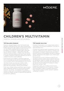 CHILDREN`S MULTIVITAMIN