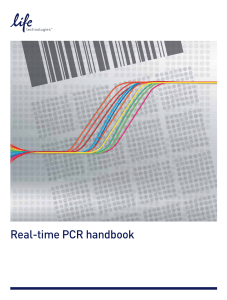 Real-time PCR Handbook