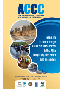 Adaptation to climate change in coastal Zones of West Africa